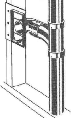Instalacja odkurzacza centralnego - do płytki montażowej
